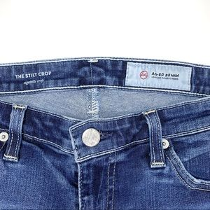 Ag Adriano Goldschmied Jeans - AG ADRIANO GOLDSCHMIED Stilt Crop Cigarette Jeans
